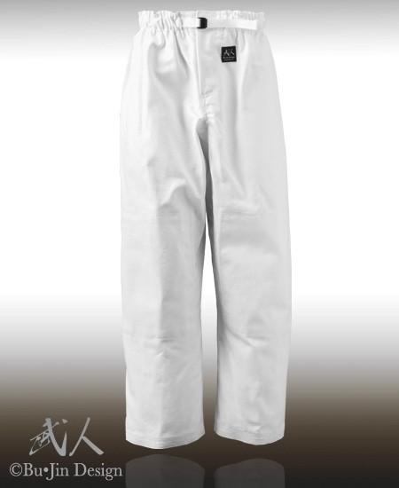 Aikido Zipper Pants 8oz - Organic
